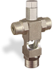 "(Formerly B1629-10X-TP), Cross Small Sight Feed Valve, 1/4"" Male NPT Inlet, 1/4"" Female NPT Outlet, Tamperproof -- B1628-243B1TW -Image"