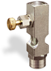 """(Formerly B1631-7X00), Straight Small Sight Feed Valve, 1/4"""" Female NPT Inlet, 1/4"""" Female NPT Outlet, Handwheel -- B1628-433B1HW -- View Larger Image"""