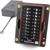 EATON's Bussmann Series 15305-1-2-3 Mini Fuse Panel, 20 Positions, Cover Included -- 46077 -Image