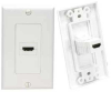 1 Port HDMI Wall Plate, 180 degree -- HDMI-1PWK - Image