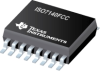 ISO7140FCC 4242-VPK Small-Footprint and Low-Power 4/0 Quad Channel Digital Isolator with Fail-Safe Output Low