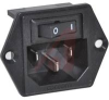POWER ENTRY MODULE, 1U HEIGHT POWER, 15A, 5 LOAD TERMINALS, 2 MOUNTING HOLES -- 70185955
