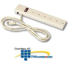 Leviton 6-Outlet Plug Strip with 6' Power Cord -- 4800-PS