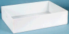 Shallow One Piece Polyethylene Molded Trays -- 14236