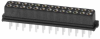 13+13 Pos. Female DIL Vertical Throughboard Conn. for Latches -- M80-8502642 - Image