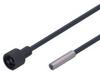 Fiber optic diffuse reflection sensor