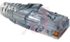 Connector; Data; Modular; Cable Boot; SNAGLESS; Cat 5, Clear Color -- 70000383