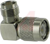 connector,rf coaxial,tnc in-series adapter,right-angle plug-to-jack,50 ohm -- 70032125