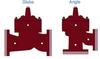 Dual Chamber Valve - Reduced Port -- M6500 / M61500