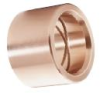 Solid Bronze Straight Bushing -- Inch Series