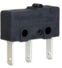 ZM1 Series, Subminiature Basic Switch, SPDT, 125/250 Vac, Pin Plunger, Quick Connect Termination -- ZM110B70A01