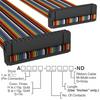 Rectangular Cable Assemblies -- A3BBH-3406M-ND -Image