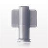 Non-Vented Female Luer Lock Cap, Grey -- 65321 -Image