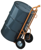 Versatile Hand Truck with Mold-On Rubber Wheels -- DRM332