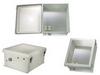 18x16x8 Inch 120 VAC Weatherproof Windowed Enclosure -- NBW181608-100 -Image