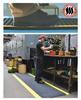 Nitricell® Diamond-Plate Spongecote® -- 414.1516X3X10BK -Image