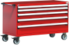 Heavy-Duty Mobile Cabinet, with Partitions -- R5BKG-3003 -Image