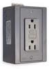 Din Rail Utility Box,15A,GFCI,Gray -- 1DNV7