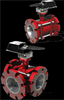 3-Way SoftTouch MAX Flanged Ball Valves -- STMax Series