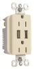 Combination Switch/Receptacle -- TM-826USBLACC6 -- View Larger Image