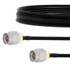 SMA Male to SMA Male Cable FM-SR141TBJ Coax in 6 Inch -- FMCA2123-6 -Image