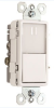 Combination Switch/Receptacle -- NTL873-AMBERW -- View Larger Image