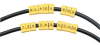 Snap-Lock Cable IDs, 1-Inch Word Marker, 10-Pack -- CM500