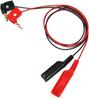 Alligator Clip to Meter Banana Plug, 22 AWG PVC Test Lead -- 285 -Image