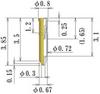 Small Size Socket Pin -- NV6XL385-GG -Image
