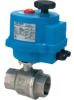 """S2CE02-0-5..STAINLESS 2-WAY NC 1/4"""" NPTF ELECTRIC ACTUATED BALL VALVE-24VAC/DC -- S2CE02-0-5"""