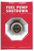 Fuel Pump Shutdown Push Button,Red -- 5AFP2