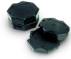 Custom Blow Molded Conductive and ESD Electronics Containers - Image