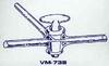 T Bore Glass Stopcock -- VM738-04
