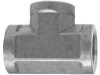 FITTINGS AND CONNECTORS, PIPE FITTINGS, TEE FEMALE -- 32-1032 - Image