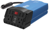 375W PowerVerter Ultra-Compact Car Inverter with 2 AC Outlets, 2 USB Charging Ports and Battery Cables -- PV375USB -- View Larger Image
