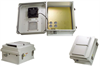 14x12x7 Inch 240 VAC Weatherproof Enclosure with Heater and Cooling Fan -- NB141207-2HF -Image