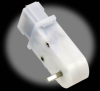 180:1 90-Degree Mini Plastic Gearmotor -- 0-PL1593
