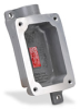 Haz-Loc Splice/Device Box: single gang, (1) 1 inch hub -- FXB-3 -- View Larger Image