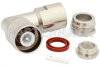 SC Male Right Angle Connector Clamp/Solder Attachment for RG213, RG214, RG8, RG9, RG225, RG393, RG215 -- PE4979 -Image