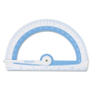 Protractor Treated w/Microban Antimicrobial Protection, Plas -- 14376