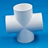 PVC Sch 40 Socket Cross -- 28474