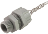 """Cord Connector, nylon, 1/2"""" NPT, cable range .125 - .188 with mesh -- RSP-103-E - Image"""