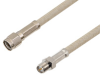 Reverse Polarity SMA Male to Reverse Polarity SMA Female Cable 150 cm Length Using RG141 Coax -- PE3C5980-150CM -Image