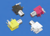Color Keyed PC Phono Jacks -- 971