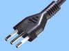 Italian 16 Amp Cord Set w/ Angled C19 Connector -- 86260540 -Image