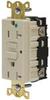 Receptacle,20 Amp,Ivory -- 15V869