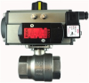 "STAINLESS STEEL-2WAY NC-DOUBLE ACTING 3/4"" NPTF BALL VALVE, GENERAL PURPOSE VALVE 24VDC -- S2CD05-B-0"