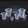 Plastic Tri-Corner Beakers -- MQ111F