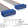 Rectangular Cable Assemblies -- C0PPS-1636G-ND -Image