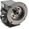 WORM GEARBOX, 2.06IN, 40:1 RATIO, 56C-FACE INPUT, HOLLOW SHAFT OUT -- WG-206-040-H